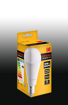 KODAK LED Globe E27 6W (40W) 480lm warm-white CAT 30415539