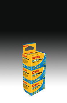 Kodak Gold 400 135-36 Ultra Max 3er Pack CAT 102 24389