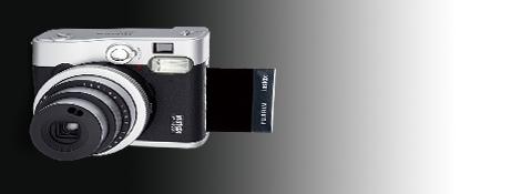Fujifilm Instax Mini 90 incl. Akku,Ladegerät,Tragegurt