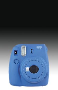 Fujifilm Instax Mini 9 kobaltblau incl. Batterien + Trageschlaufe