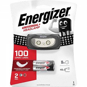 Energizer LED Stirnlampe Universal Plus inklusive 2xAAA Batterien