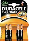 Duracell Plus Micro 2400  4er Pack LR3 / MN 2400
